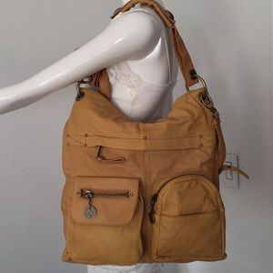 Cynthia Rowley front pocket hobo bag